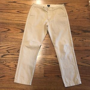 Jcrew khaki pants Sutton style